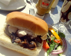 Steak & Mushroom Bun (Tony Worrall) Tags: add tag ©2017tonyworrall images photos photograff things uk england food foodie grub eat eaten taste tasty cook cooked iatethis foodporn foodpictures picturesoffood dish dishes menu plate plated made ingrediants nice flavour foodophile x yummy make tasted meal