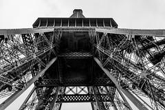Tour Eiffel (Didier Mouchet) Tags: paris toureiffel monument architecture gustaveeiffel noiretblanc nikond5300 nikon didiermouchet d5300 blackandwhite bw tour eiffel