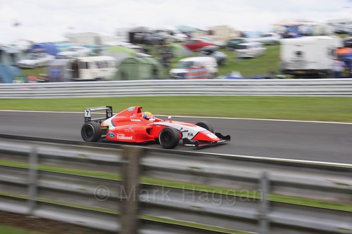 Alex Quinn in British Formula Four at Oulton Park, May 2017