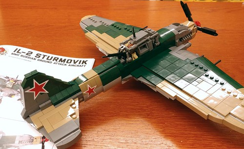 Brickmania IL-2 with BrickArms UBT Gun! - a photo on Flickriver