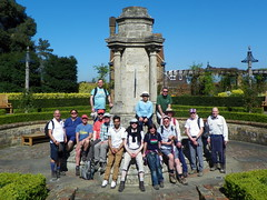 GOC Harrow Weald–Bushey 049: Group shot (Peter O'Connor aka anemoneprojectors) Tags: 2017 architecture building bushey busheyrosegarden england fountain garden gayoutdoorclub goc gocharrowweald–bushey gochertfordshire grade2listed grade2listedbuilding gradeiilisted gradeiilistedbuilding gradetwo gradetwolisted gradetwolistedbuilding group groupshot hertfordshire hertfordshiregoc human kodak kodakeasysharez981 listed listedbuilding man men monument outdoor people person rosegarden woman z981