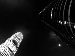 When the light meets the dark The Architect - 2017 EyeEm Awards Architecture Built Structure Night Low Angle View No People Illuminated Building Exterior Skyscraper Outdoors Clear Sky City Modern Sky Blackandwhite Blackandwhite Photography Monochrome Phot (Eugene Kong) Tags: thearchitect2017eyeemawards architecture builtstructure night lowangleview nopeople illuminated buildingexterior skyscraper outdoors clearsky city modern sky blackandwhite blackandwhitephotography monochromephotography urbanphotography perspective urbangeometry urbanlandscape nightphotography lightanddark moonlight composition