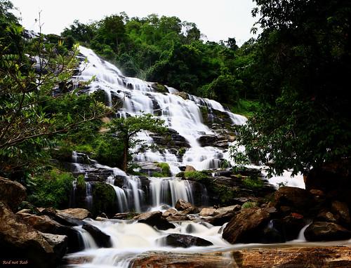 Waterfall, Chiang Mai, Thailand