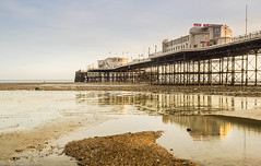 _3130045.jpg (Dennis in Shoreham-by-Sea ( LRPS )) Tags: worthing beachhuts sunset places pier