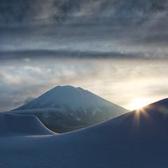 Mount Yōtei (south*swell) Tags: mountain yotei mountyotei japan niseko sunrise square landscape snow scenery nature