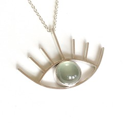 Third eye in Prehnite
