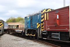 "08911 ""Matey"" (372Paul) Tags: nrm shildon nationalrailwaymuseum steam diesel electric e5001 class71 deltic lner emu 2hap black5 5000 sanspareil apt advancedpassengertrain"