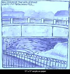 Spring 2008 (Chris Francz) Tags: stroudsburgpa downtownstroudsburg stroudsburgart annestreetfallsstroudsburg mainstreetstroudsburgpa outdoordrawings chrisfrancz chrisfranczart watercolorpainting sketchbook sketchbookpages sketchbookart