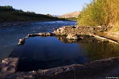 The Perfect Hot Springs (isaac.borrego) Tags: uploadedviaflickrqcom morning mountains desert hotsprings bigbend nationalpark texas canonrebelt4i