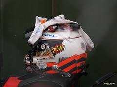P1017162 (ajh_1990) Tags: kevin estre helmet retired fire disappointed disappointment wec silverstone