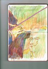 MANOS DE ESCULTOR (GARGABLE) Tags: escultor colores angelbeltrán apuntes sketch drawings dibujos manos gargable cuaderno