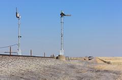 The Blades Indicate Clear! (bkays1381) Tags: semaphore southwestchief amtrak amtrak3 amtk117 newmexico wagonmound