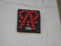 A.2. (emilyD98) Tags: paris insolite street art a2 mosaic mosaïque wall mur collage urban exploration city ville installation
