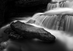 The Rock (See-Through-My-Lens) Tags: canon landscape waterfall long exposure mono