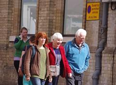 Folks on the Cornhill  Bury St Edmunds Suffolk (Bury Gardener) Tags: streetphotography street streetcandids candid candids 2017 folks people peoplewatching burystedmunds suffolk eastanglia england uk cornhill
