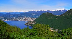 2017 5 2 Alta Valle Intelvi, Belvedere di Lanzo d'Intelvi vista su Lugano (mario_ghezzi) Tags: lanzodintelvi lombardia italia intelvi valledintelvi nikon coolpix nikoncoolpix p7000 coolpixp7000 nikonp7000 nikoncoolpixp7000 marioghezzi noreflex altavalleintelvi 2017 lugano lago lagodilugano ceresio alpi svizzwra cantonticino