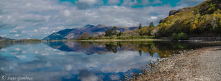 A Spring day Derwent Water reflections.
