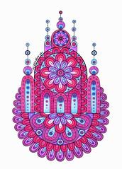Leuchtturm1917 #1 (Mashmuh) Tags: copic mandala zentangle зентангл мандала