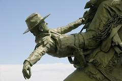 Bucky buckaroo (Rocky Pix) Tags: buckingbuckaroo statue statuary cowboy bucking horse pony rodeo bronc busting longmont boulder county colorado rockies stvrain river basinrockypixrockymountainpixw michel kiteleyf161100thsec102mm70200mm f28g vr nikkor telezoom monopod