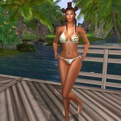 Slipper Originals @ Designer Circle- Maya Bikini (Xiomara Lavendel) Tags: slipperoriginals designercircle ryca unorthodox shoes hair swimwear xiomaralavendel secondlifemodel slmodel slfashion secondlifefashion secondlife