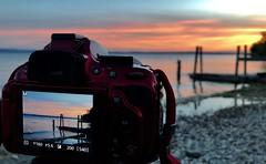 Bodensee im Fokus (Niwi1) Tags: sundown sunset water lake trip holiday lakeconstance outdoor niwi1 urlaub sonnenuntergang blauestunde wasser see bodensee