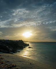 Beautiful late afternoon (Krevo55) Tags: turksandcaicos caribbean paradise ocean sea water sand beach tropical providenciales islands seashore waves sun clouds sky nature outdoor landscape provo gracebay sunset turtlecove longexposure
