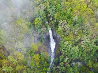 Lick Brook Falls Aerial