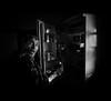 Midnight Assault - Asalto a Medianoche (EddyB) Tags: eddyb fuji fujinon xt1 xf1855f284mm castelldellaes bw blackandwhite blancoynegro retrato portrait funnypic funnyimage nevera fridge