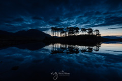 first light... (Pastel Frames Photography) Tags: derryclare co galway ireland connemara lake reflections water surface clouds blue light sunrise nature naturephotography travel travelphotography landscape landscapephotography canon5dmark3 lovecanon canon 1635 mm connemaranationalpark