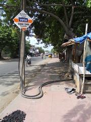 DSCN4174 (Santhosh ITDP) Tags: 2015 india chennai thiruvanmiyur kalki krishnamoorthi salai bad after obstruction footpath improper cable