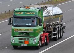 SP62ATZ - Harry Lawson (TT TRUCK PHOTOS) Tags: lockerbie a74m volvo fh3 tanker harry lawson