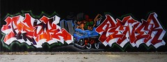 Peor  •  Spyke   • Pener (HBA_JIJO) Tags: streetart urban graffiti art france hbajijo wall mur painting letters peinture lettrage lettring writer spray urbex p19 paris91 pener spike penner