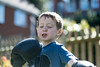 The Boxer - DSCF2061 (s0ulsurfing) Tags: s0ulsurfing 2017 march isle wight william boxer boxing garden boy play imagination fuji xseries xt2