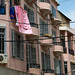 Pink old buildings in mar mikhael, Beirut Governorate, Beirut, Lebanon