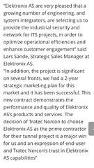 Elektronix wins 7 million ITS contract (Lars Sande) Tags: its larssande elektronixas norwegian infrastructure itsnorge moxa bosch tunnelproject