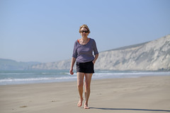 Family Beach Time - DSCF2681 (s0ulsurfing) Tags: s0ulsurfing 2017 april isle wight beach coast compton family