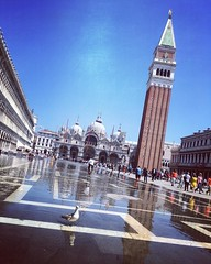 """(Campanile di San Marco)   Piazza San Marco is the principal public square of #Venice, #Italy, where it is generally known just as la #Piazza (""""the Square""""). A remark usually attributed (though without proof) to Napoleon calls the Piazza San Marco """"the dr (""""guerrilla"""" strategy) Tags: ifttt instagram campanile di san marco   piazza is principal public square venice italy where it generally known just la thesquare a remark usually attributed though without proof napoleon calls thedrawingroomofeurope architecture art streetart streetphotography photography venezia italia worldtravel worldcommuter travel urban city filter"""