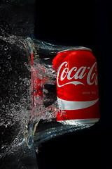 Since 1886 (Wim van Bezouw) Tags: cocacola drink can water splash sony ilce7m2 pluto strobist plutotrigger highspeed