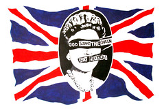 God save the Queen (Don Claudio, Vienna) Tags: hofprotokoll elizabeth ii kate london england brexit regenbogenpresse yellow press sun curtsy sex pistols never mind bollocks