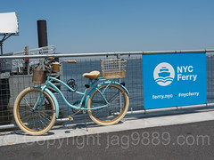 NYC Ferry Rockaway Terminal, New York City (jag9889) Tags: 2017 20170517 bicycle bike boat citywideferryservice cycling ferry ferryservice ferryterminal hornblower ny nyc nycferry newyork newyorkcity outdoor passengerferry queens rack rockaway rockawaypeninsula route sign signboard text transportation usa unitedstates unitedstatesofamerica vessel waterway jag9889 us