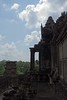 Angkor Wat Temple View ({House} Photography) Tags: angkor wat unesco world heritage site cambodia asia siem reap sony rx100 mk1 ancient religious 12th century temple hindu god vishnu housephotography timothyhouse sky clouds sun carving architecture