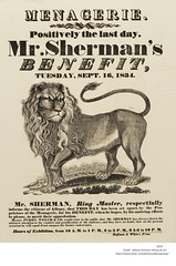 Sherman's  menagerie 1834  albany ny (albany group archive) Tags: 1830s circus old albany ny vintage photos photo history historic historical photograph