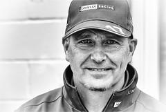 Dave Newsham BTCC Norlin Racing Chevrolet Cruze (jdl1963) Tags: thruxton btcc british touring cars car championship motorsport motor sport racing bw black white blackandwhite monochrome mono portrait dave newsham chevrolet cruze norlin