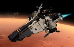 BLUE Phobos (xiei22) Tags: spaceship starfighter