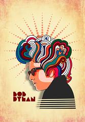 Bob Dylan (www.instagram.com/thiagor6/) Tags: arte ilustração design vetor thiagor6 desenho