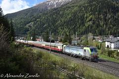 BLS: Re 475 404, Mallnitz-Obervellach (A) (Alexandre Zanello) Tags: vectron re 475 bls cargo ake tee rheingold eisenbahntouristik tauern tauernbahn südrampe siemens