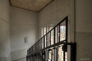 windows and stairs