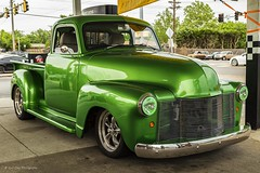 1949 Custom Chevy Pickup (Kool Cats Photography over 8 Million Views) Tags: car vehicle green custom grille 1949 chevy pickup