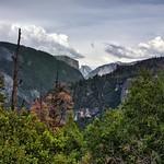 A Far Off View to Half Dome and El Capitan (HDR, Yosemite National Park) thumbnail