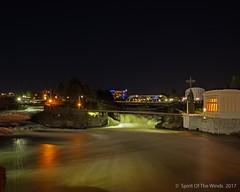 The Upper Falls (jimgspokane) Tags: spokanewashingtonstate spokaneriver spokanefalls rivers waterfalls bridges